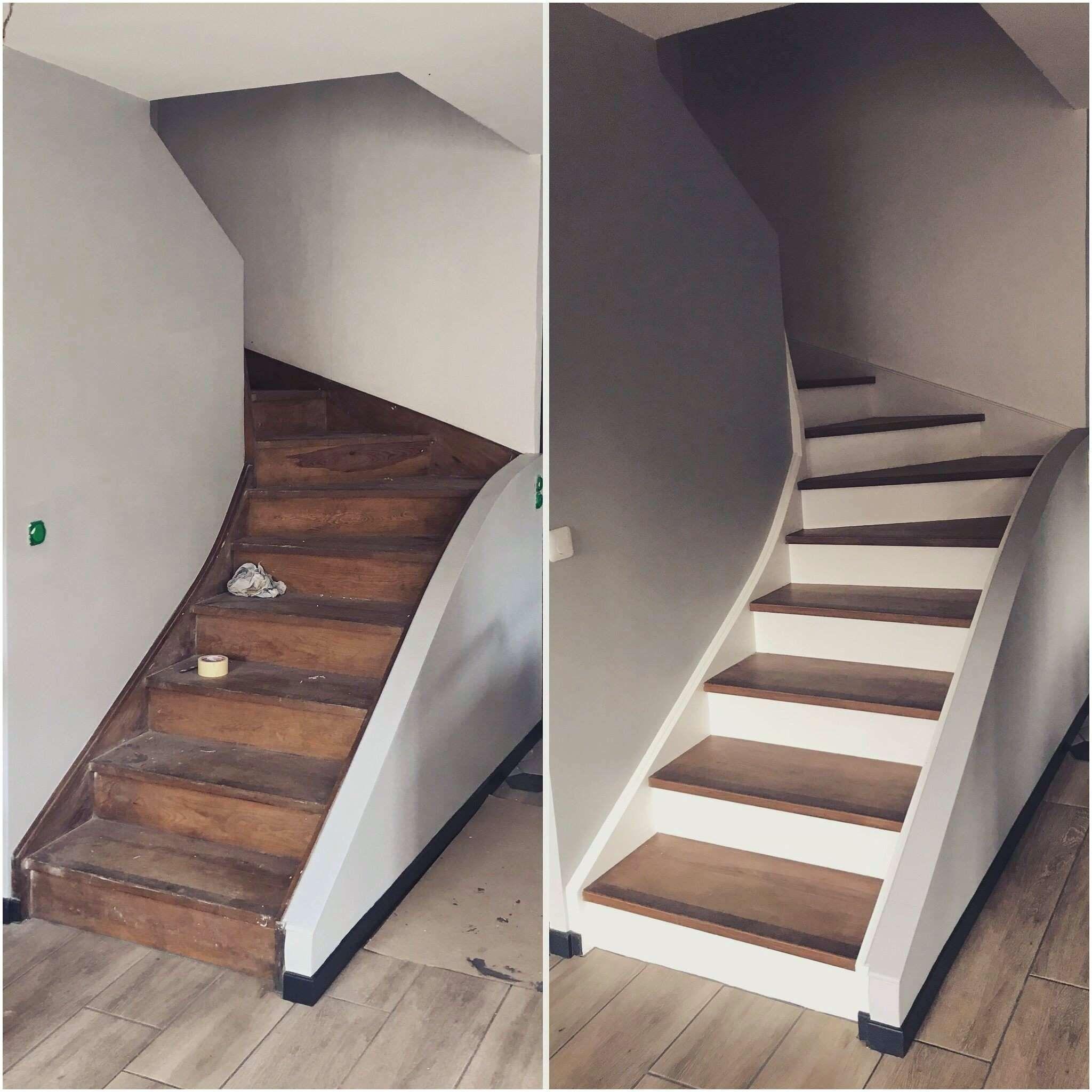Resultats Google De Recherche D Images Correspondant A Http Labambatriste Com Wp Content Uploads 2019 01 Prem Renovation Escalier Bois Projet Maison Escalier