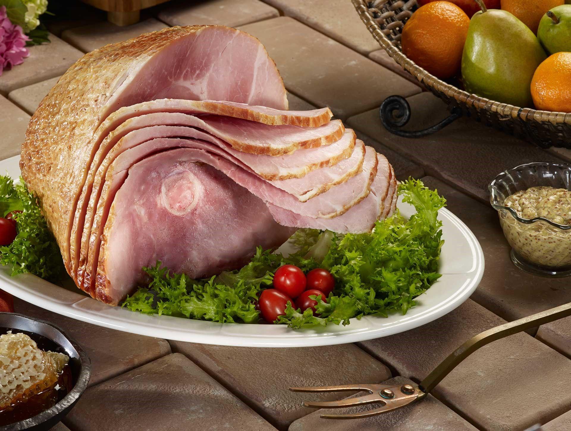 Holiday ham giveaway