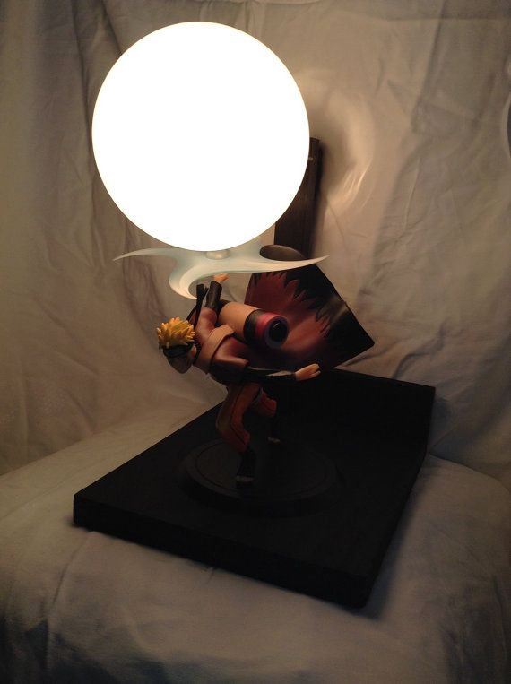 Custom Naruto DIY Lamp / Display / Anime By LitUpInteriorDesign