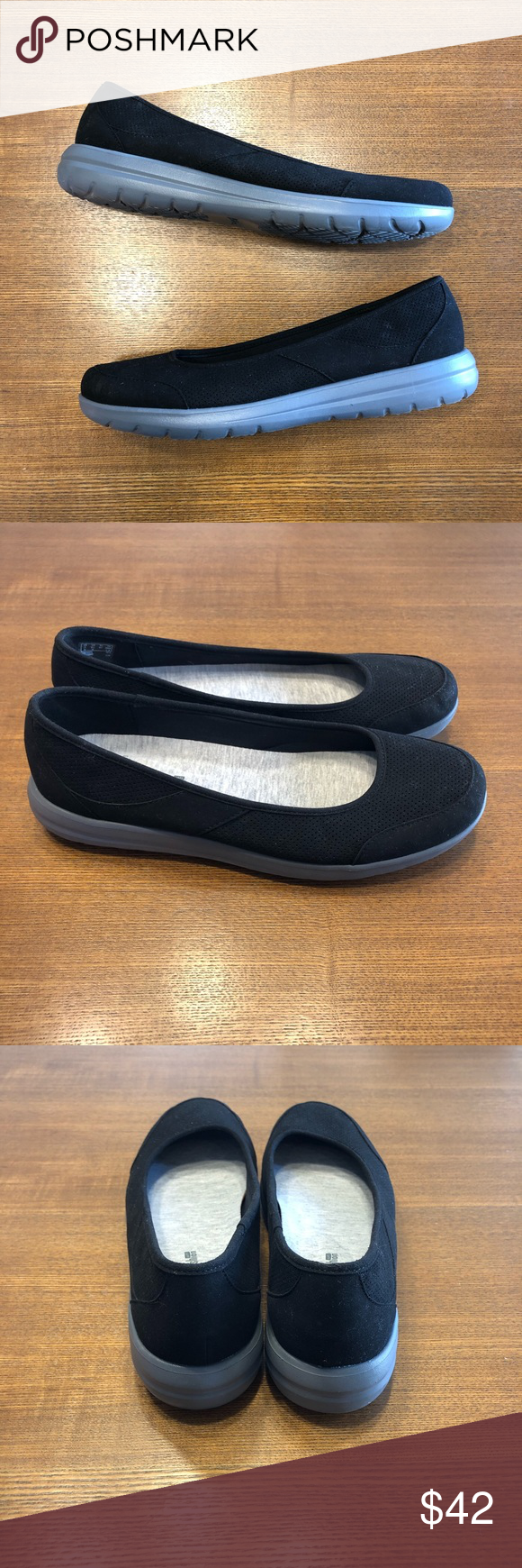 Slip on shoes, Clarks shoes, Black suede