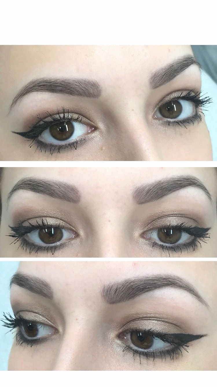 Eyebrow Tattoo Process Permanent makeup eyebrows