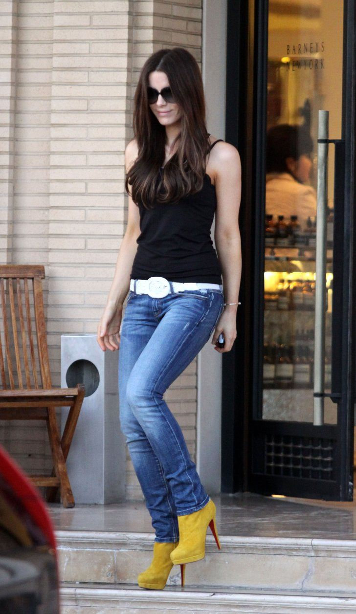 54 Cool Cues From Kate Beckinsale's Love Affair With Denim
