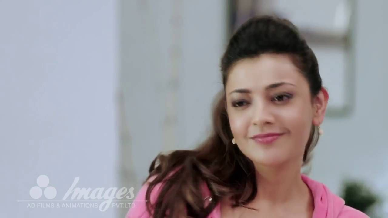 Kajal Agarwal Hot In Ad
