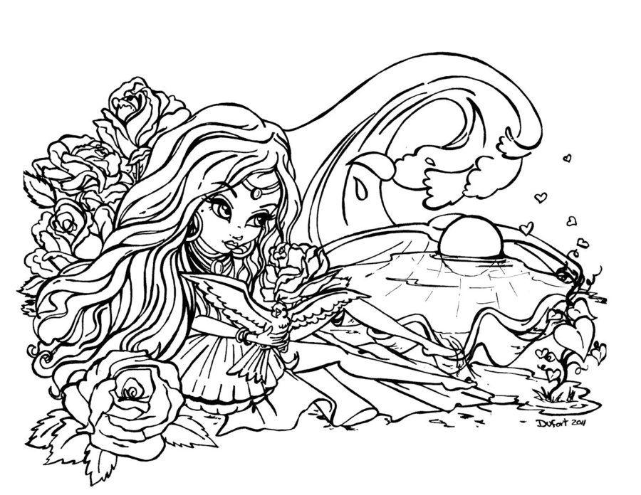 Original Aphrodite By Jadedragonne On Deviantart Cute Coloring