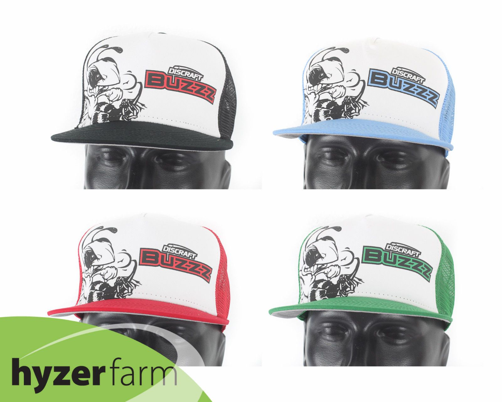 Disc Golf Accessories 184360  Discraft Buzzz Trucker Flat Bill Snap Back Hat   Pick Color  Hyzer Farm Disc Cap -  BUY IT NOW ONLY   18.95 on  eBay ... 008b6831cde