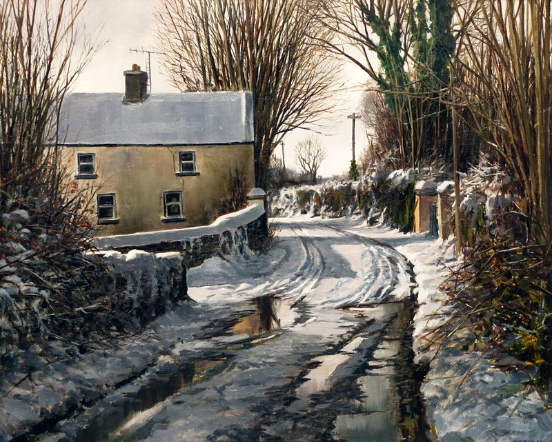 Winter by Eugene Conway | Irish Art at Gormley's Fine Art - Irish