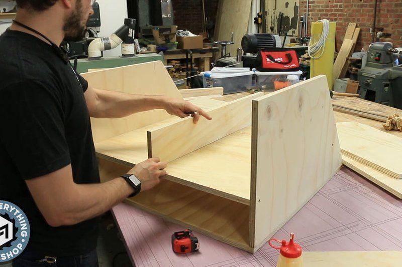 Scrap Cart From A Single Plywood Sheet W Plans Prosjekter