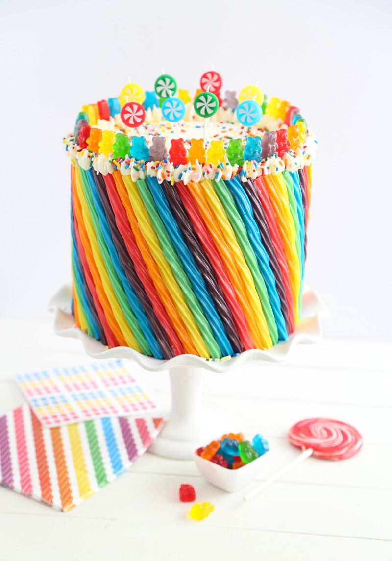 Rainbow Candy Cake Sprinkles Meals And Cake Recipes