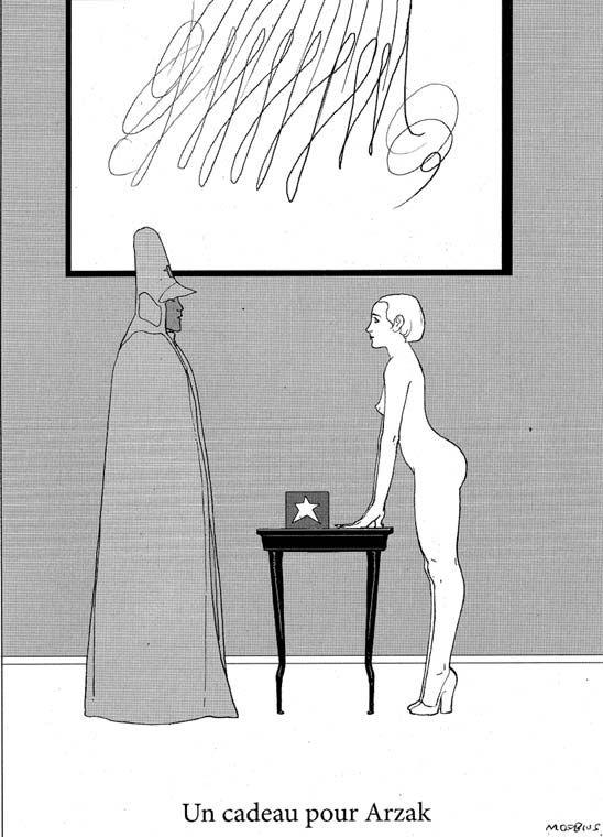 Moebius, Arzak 2010 #comics#illustrations #moebius