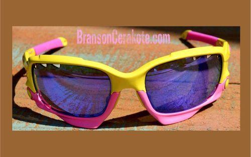 aa67fe38b4 Cerakote Oakley Split Jacket Sunglasses