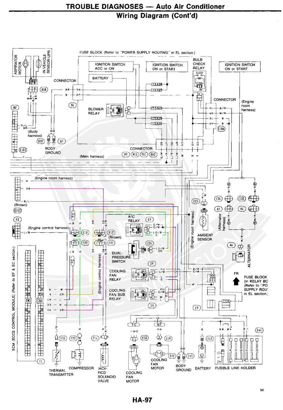 18 1990 Nissan 300zx Engine Wiring Harness Diagram Engine Diagram Wiringg Net Electrical Wiring Diagram Electrical Diagram Diagram