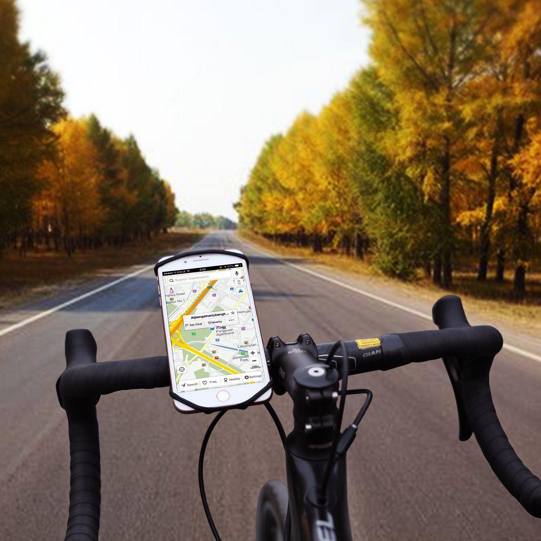 Aonkey Universal Bike Phone Mount Bicycle Handlebar Cell Phone