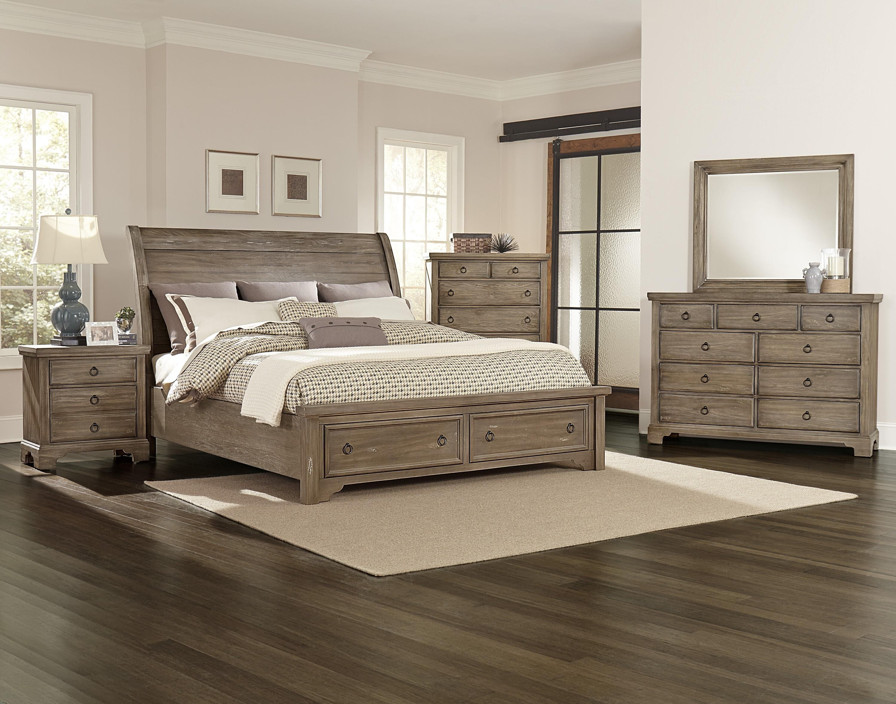 Whiskey Barrel King Bedroom Group By Vaughan Bassett Master