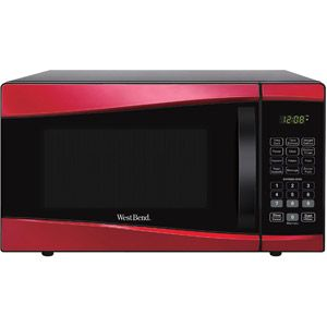 Westbend Red Microwave Black Appliances Kitchen Microwave