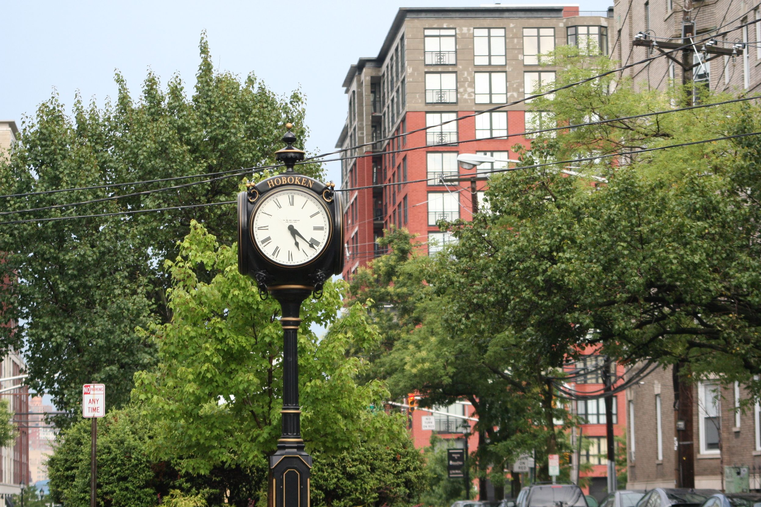Hoboken, New Jersey love it and miss it