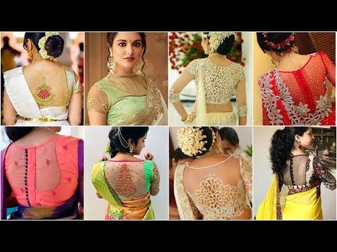 Latest Net Blouses Designs 2020 || Designer Net Blouses for pattu and fancy sarees
