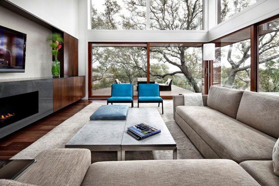 Cómo decorar una Sala o Living Room 9 Delia Pinterest Terrazas - colores calidos para salas