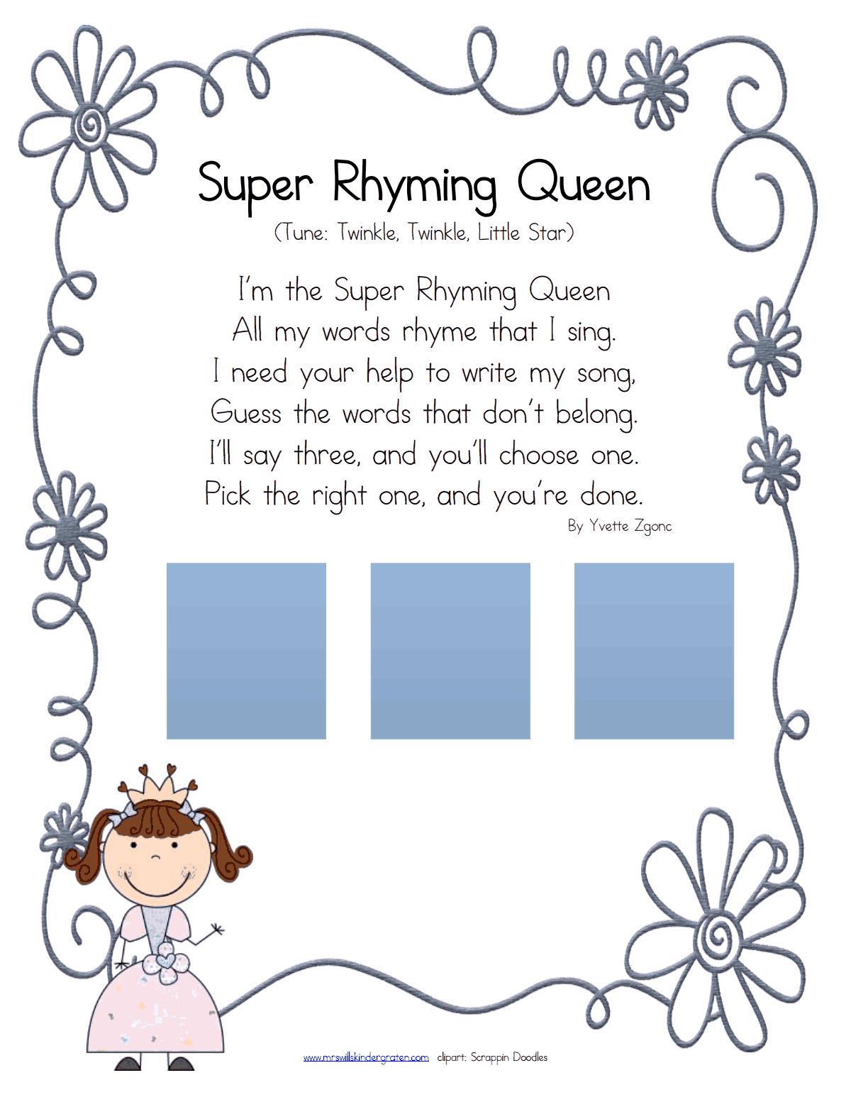 Super Rhyming Queen