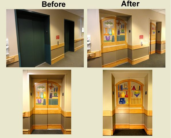 Why Disguise Elevator Doors Outside Of A Memory Care