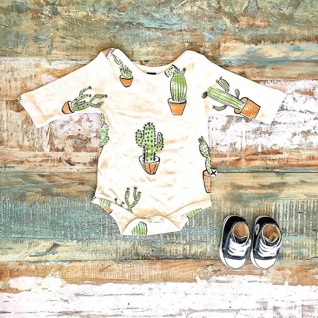 Cool Baby Clothes Minti Cactus Bodysuit Converse Baby Chucks