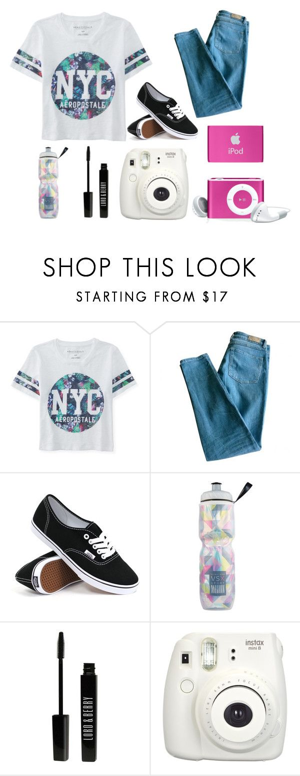 """""""vacation in NYC"""" by lolgirl07 ❤ liked on Polyvore featuring Aéropostale, Sandro, Vans, Victoria's Secret, Lord & Berry, women's clothing, women's fashion, women, female and woman"""