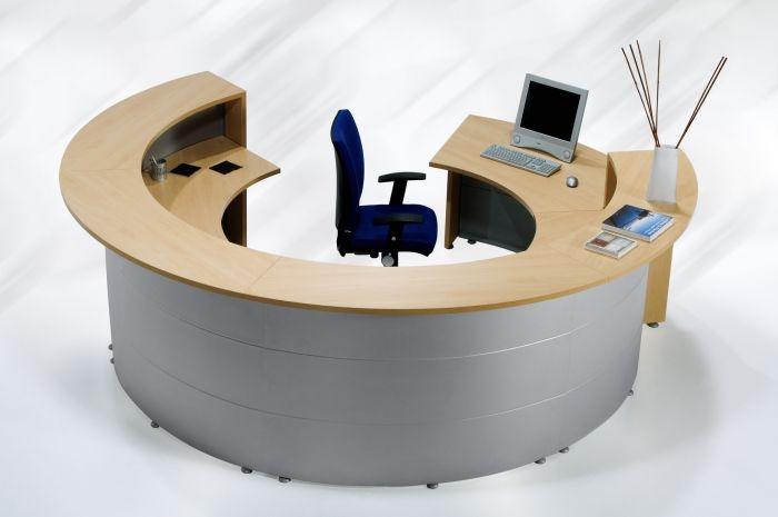 Mostrador circular mostrador de recepci n circular - Mostradores para oficinas ...