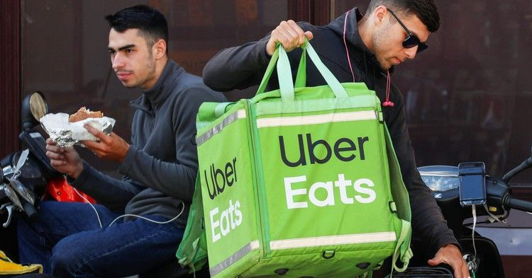 Grubhub uber eats and doordash drove the online food