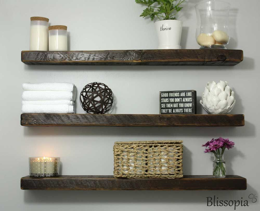 Ikeafloatingshelves Reclaimed Wood Floating Shelves Wood