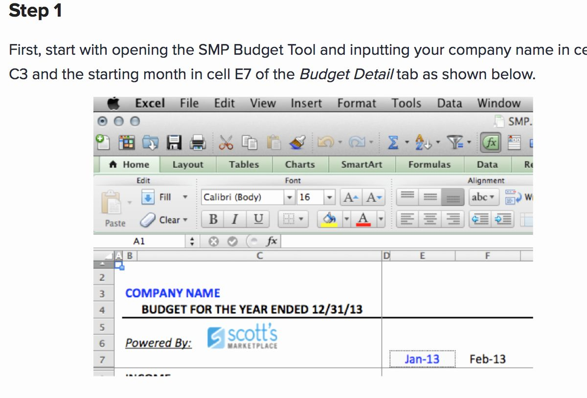 Small Business Budget Template Elegant 7 Free Small