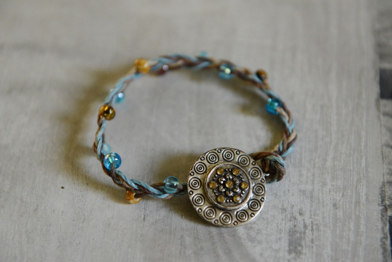 Westorn bracelet, Handmade bracelet, Charm beaded bracelet by alovelylemon on Etsy