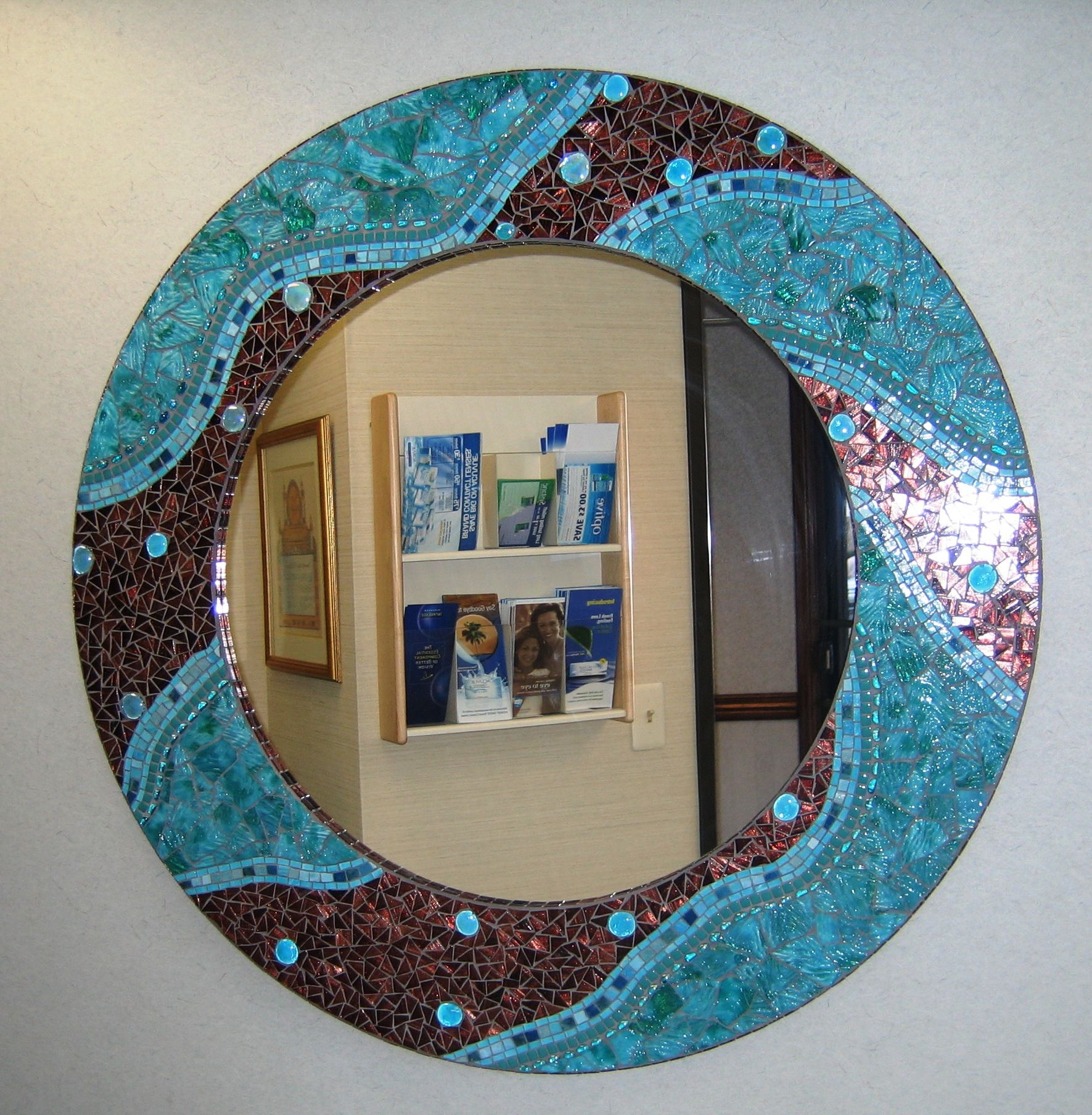 организациях декорируем зеркало картинки эту тропу