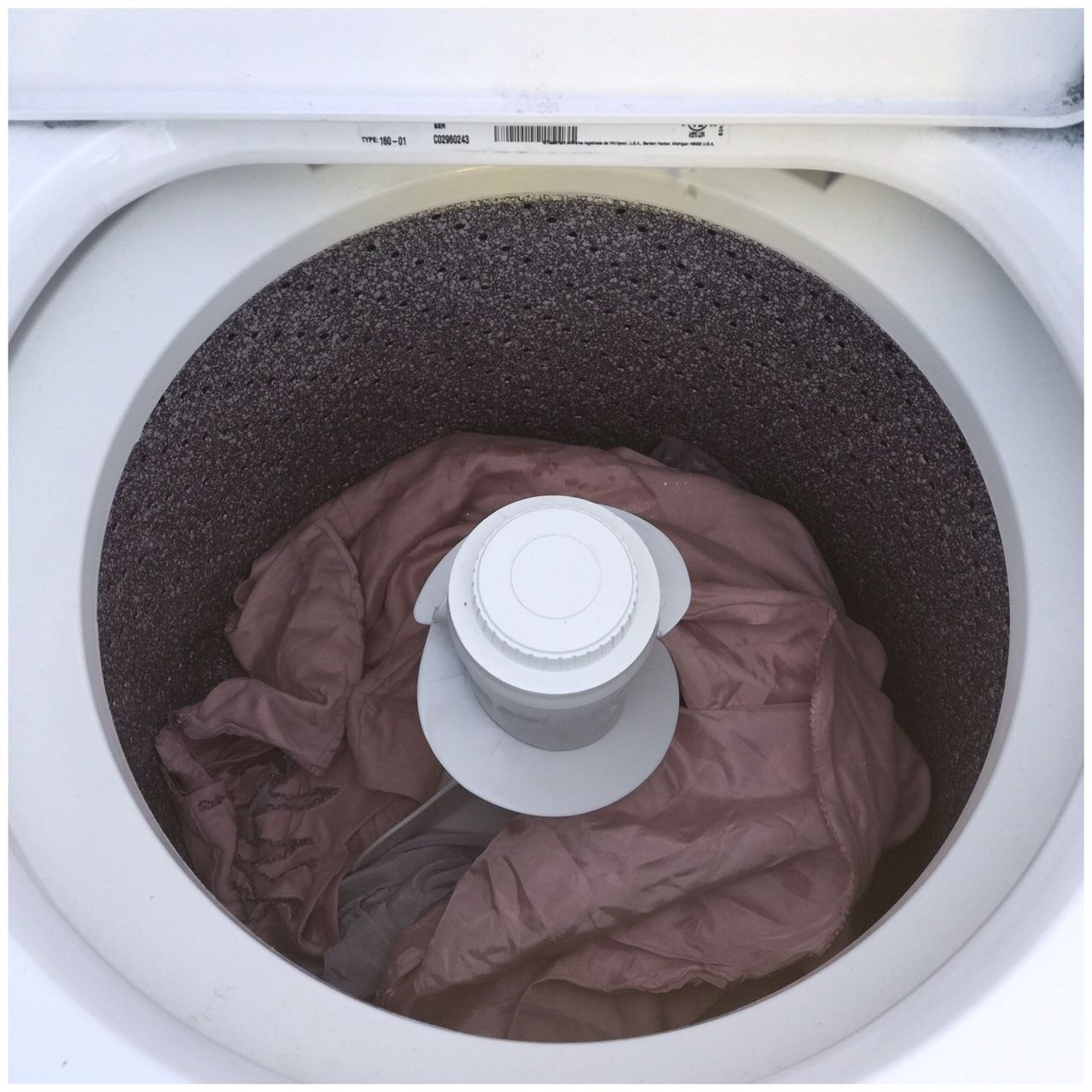 washing machine dye