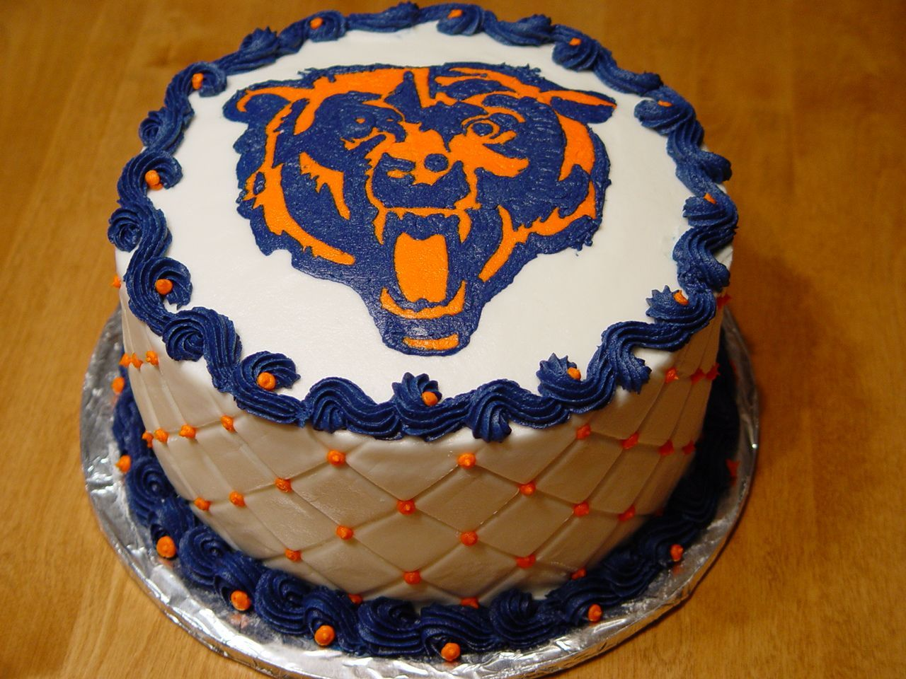 201 best chicago bears parties cakes images on Pinterest Party