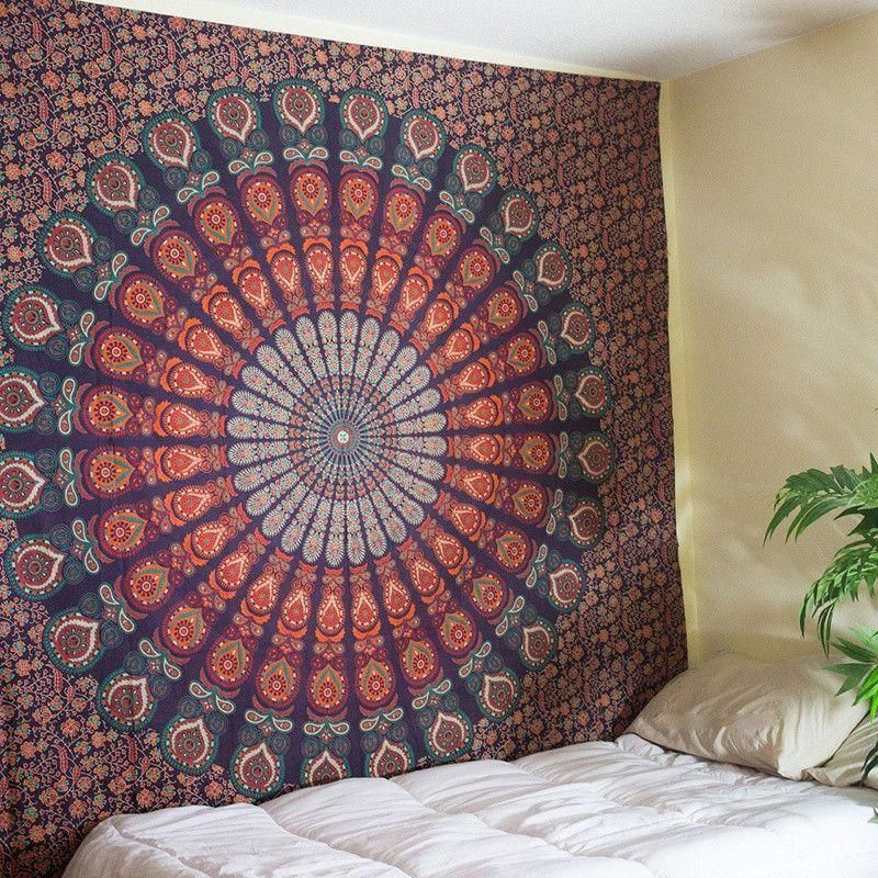This Multi Purpose Mandala Tapestry Can Be Used To