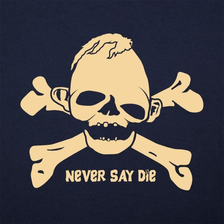 444a7b9a6 The Goonies Sloth | Never Say Die Crossbones T-Shirt (Mens) in 2019 ...