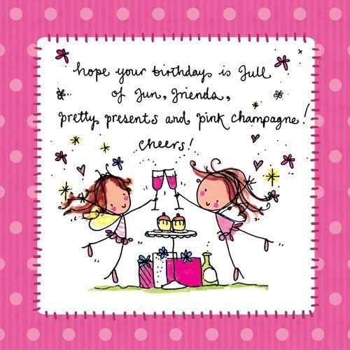 Funny Birthday Wishes Pink: Juicy Lucy Birthday - Verjaardag ˜�