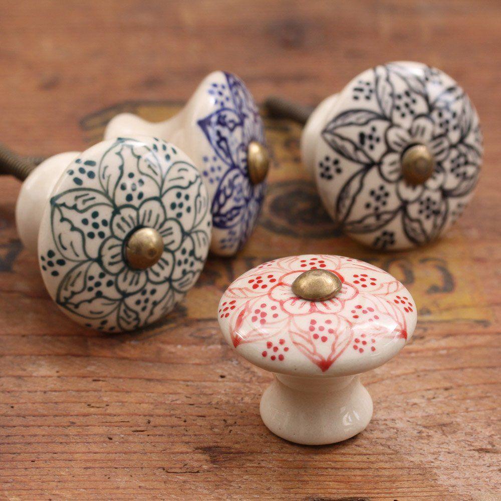 Daha Ceramic Cabinet Knob Home Decor Porcelain Door Knobs
