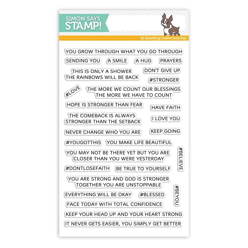 Simon Says Clear Stamps YOU GOT THIS SSS101782 | Stamps