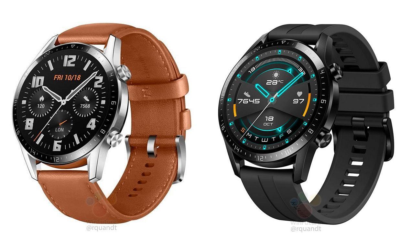 تسريب الساعة الذكية Huawei Watch Gt 2 وستضم إطار أنحف وبطارية أكبر Huawei Watch Smart Watch Samsung Smart Watch