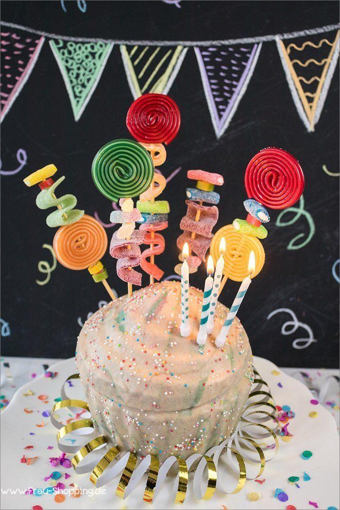 Photo of Bunter Piñata Kuchen zum Kindergeburtstag – Apfel Kuchen – Bunter Piñata Kuche…