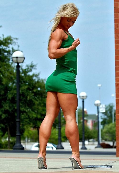Very Muscular Ass Woman 99