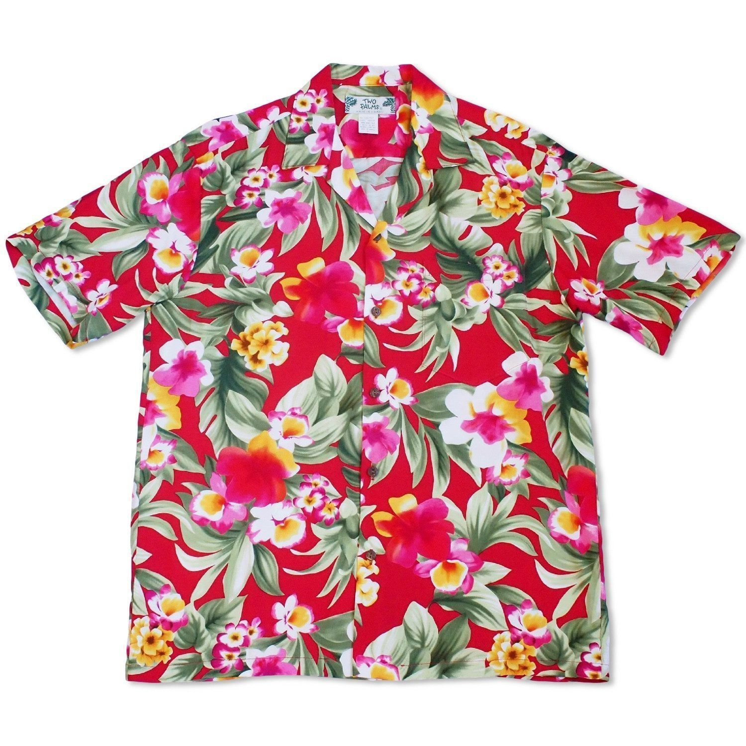 Oasis Red Hawaiian Rayon Shirt Man Pinterest Hawaiian And