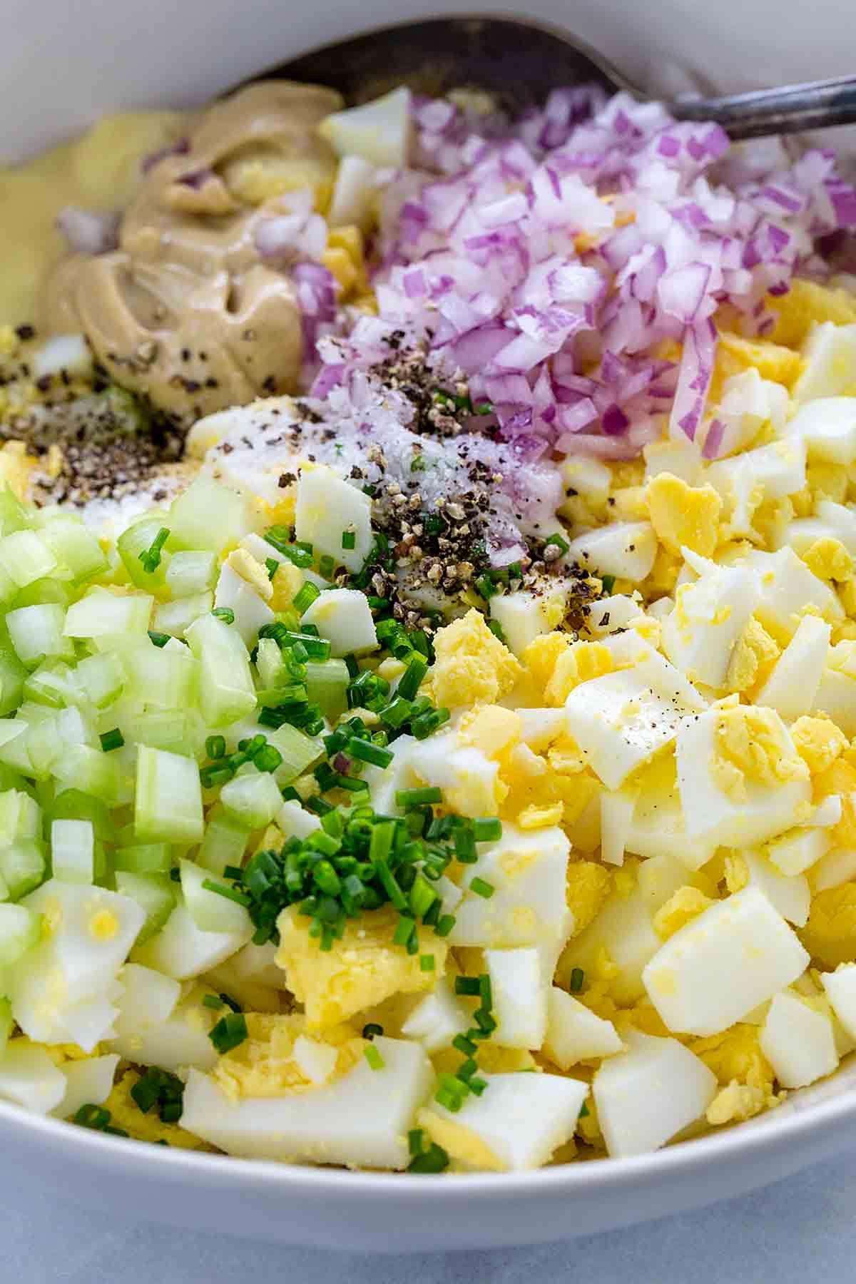 Egg Salad Recipe Light Mayo