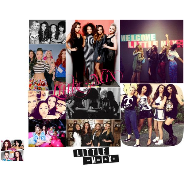 Little Mix by sara-fontes on Polyvore featuring moda