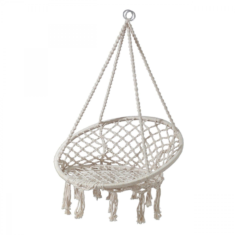 Dedeman Fotoliu Suspendat 1 Persoana 68429 Plc Structura Metal 82 62 X 123 Cm Dedicat Planurilo Macrame Hanging Chair Hanging Hammock Chair Hanging Chair
