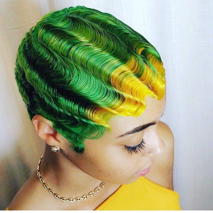 41++ Finger waves on long natural hair trends