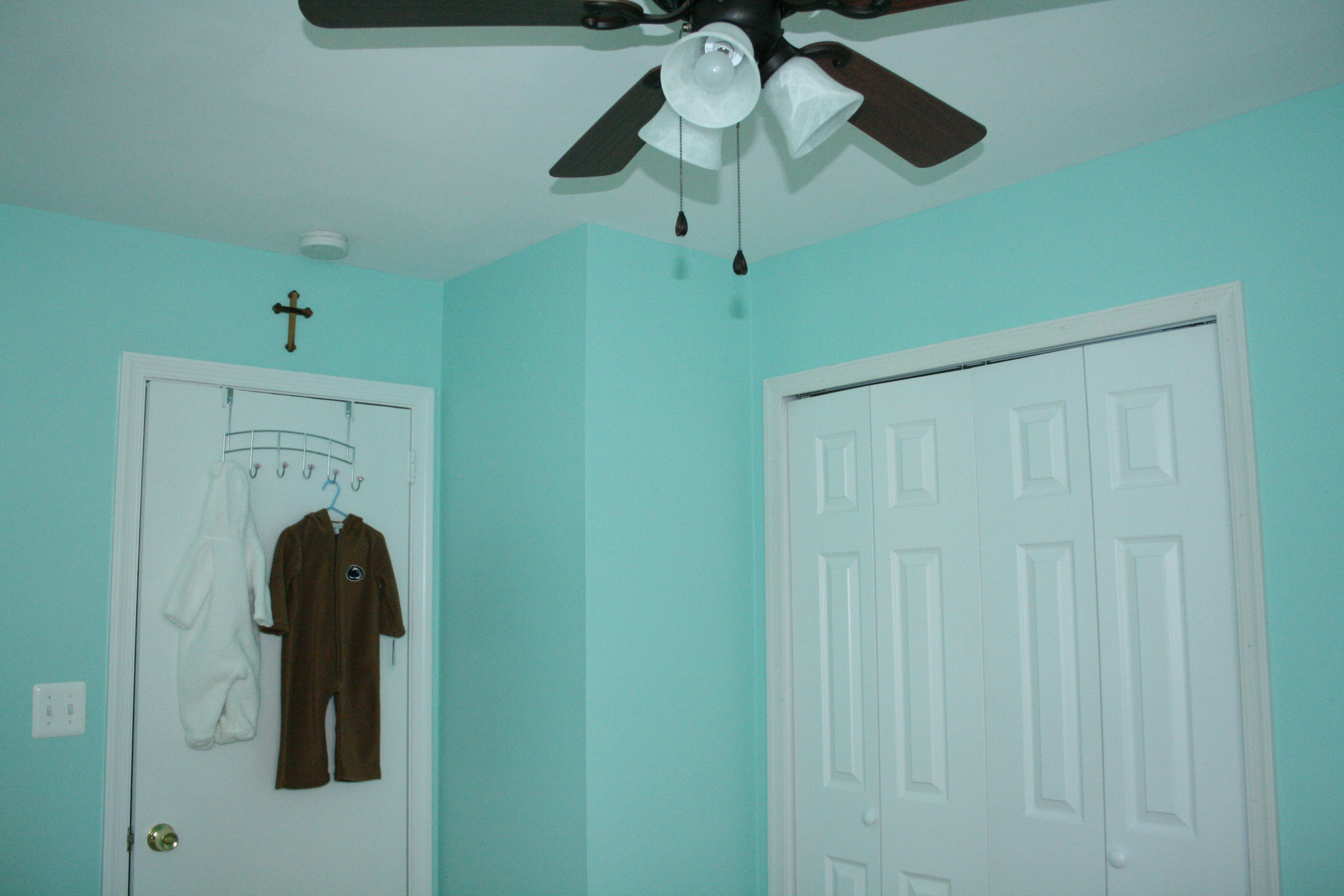 Valspar aqua glow paint colors pinterest aqua for Aqua blue paint for walls