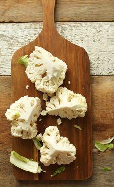 How to Make Cauliflower Rice #vegan #glutenfree #recipe