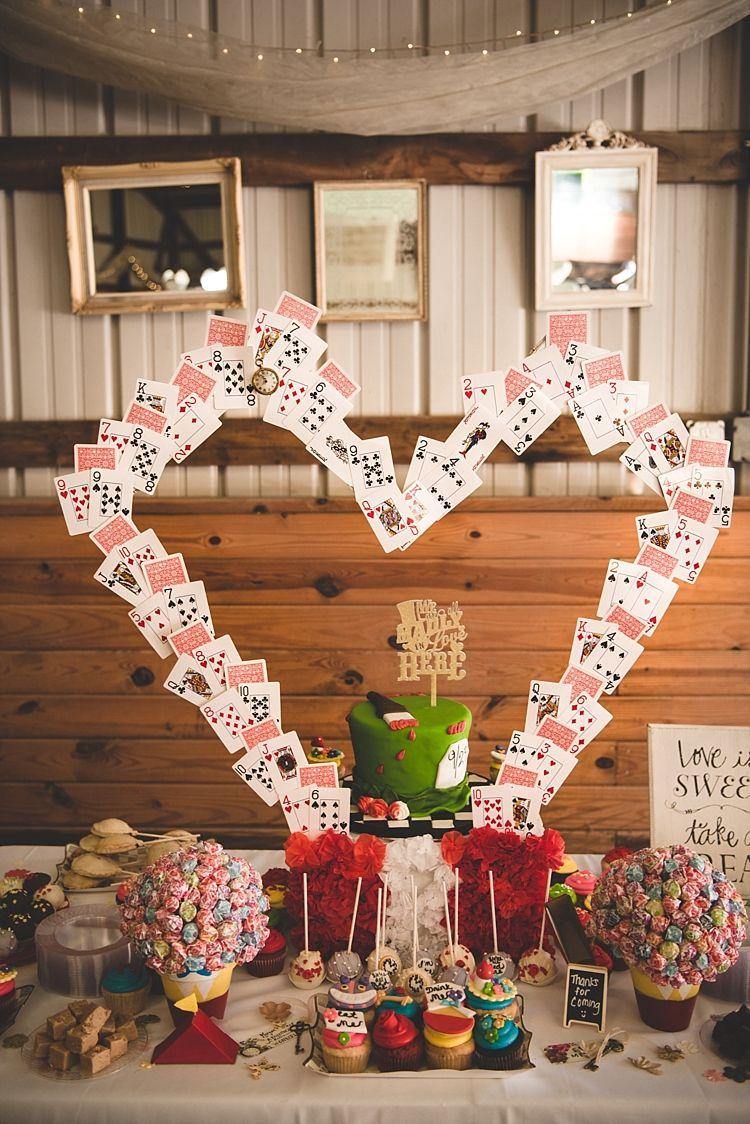 Alice In Wonderland Wedding In Pennsylvania Wedding Ideas