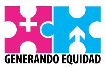 """Logotipo para campaña interna Rama judicial de Risaralda """"Generando Equidad"""". Comité Seccional de Género."""